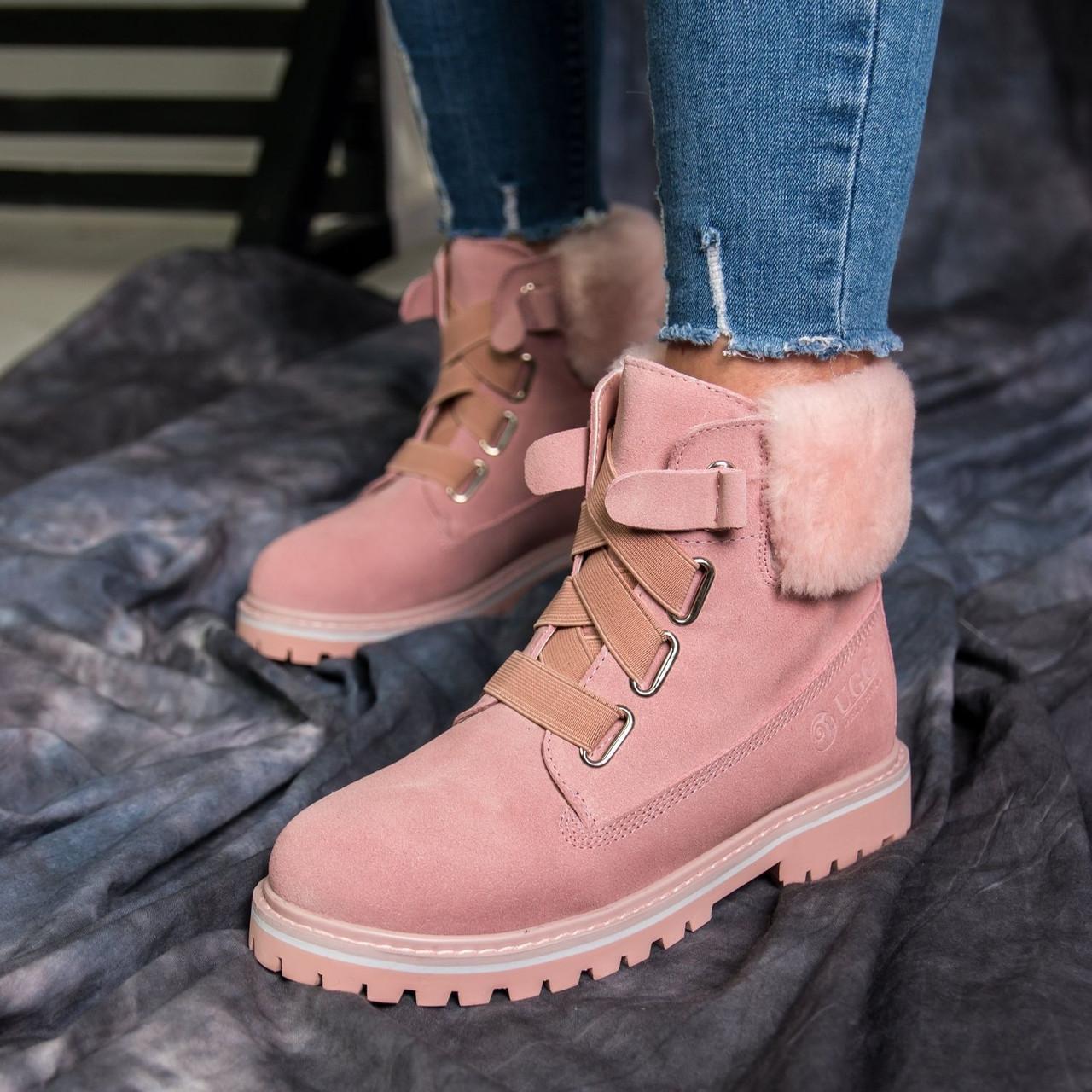 Зимние ботинки женские в стиле UGG Australia