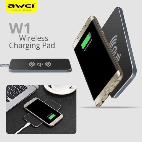 Беспроводное зарядное устройство Awei W1 + Wireless Charge