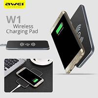 Беспроводное зарядное устройство Awei W1 + Wireless Charge, фото 1