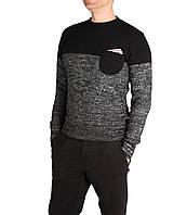 Мужской свитер с карманом
