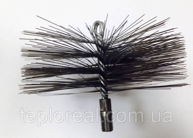 Щётка Ерш для чистки  дымохода D 200 мм (Нержавейка)