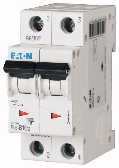 Автоматический выключатель PL6-B10/2 (286553) EATON