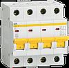 Авт. выкл. ВА47-29 4P 5A 4,5кА х-ка D (MVA20-4-005-D) ІЕК