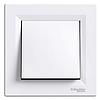 Выключатель одноклавишный самозажимной, Белый ASFORA (EPH0100121) Schneider