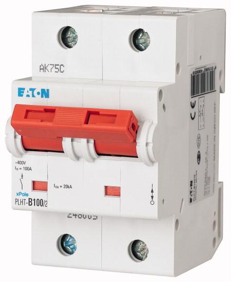 Автоматический выключатель PLHT-C100/2 (248014) EATON