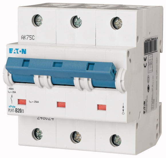 Автоматический выключатель PLHT-C20/3 (248033) EATON