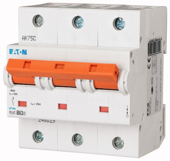 Автоматический выключатель PLHT-D63/3 (248047) EATON