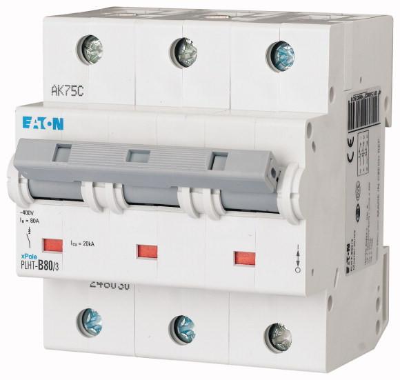 Автоматический выключатель PLHT-D80/3 (248048) EATON