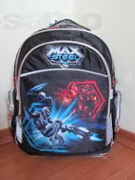 Рюкзак шкільний Max Steel Kite