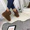 Угги женские коричневые натуральная замша //В НАЛИЧИИ ТОЛЬКО 41р, фото 6