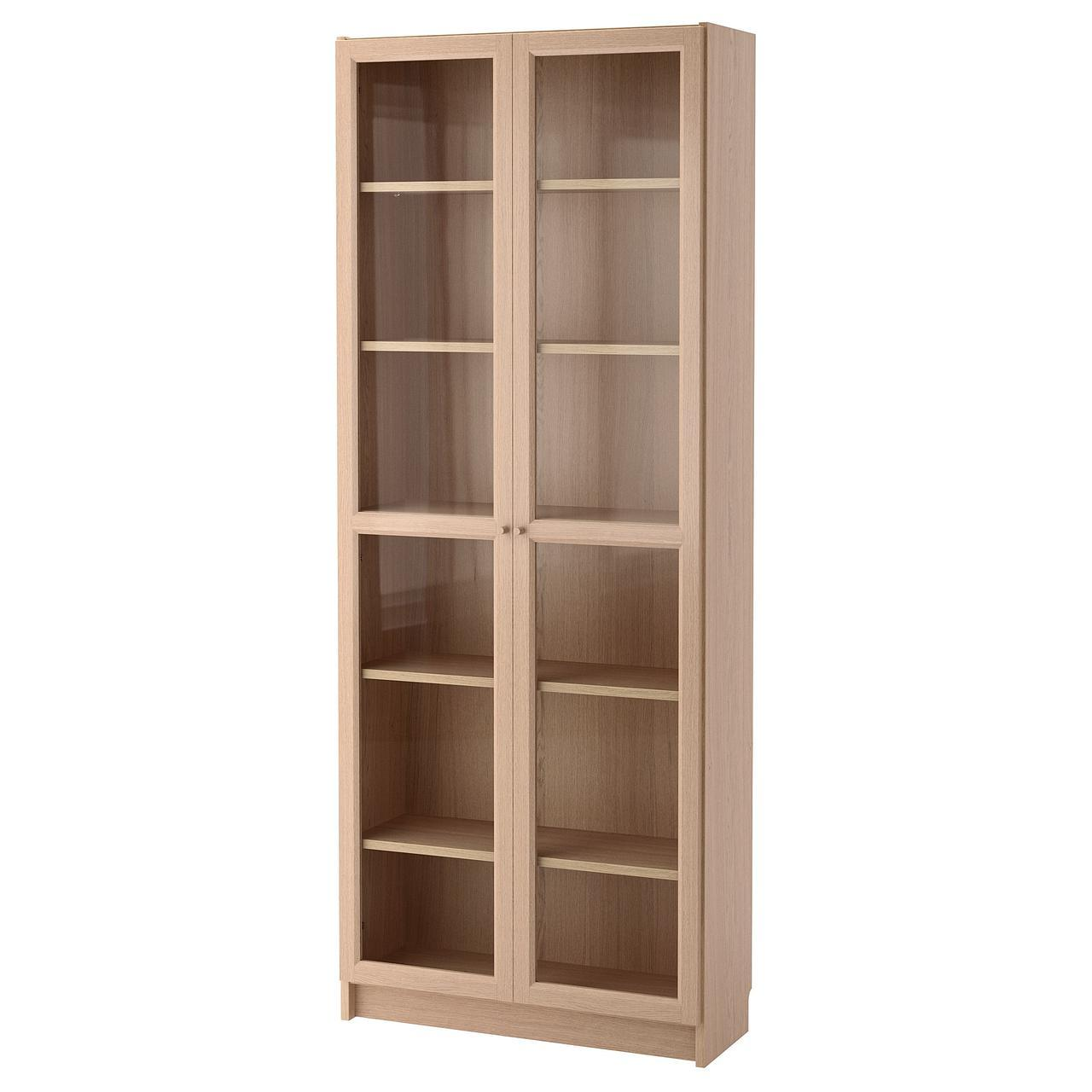 ✅ IKEA BILLY / OXBERG (292.499.72) Шкаф/Сервант, белый