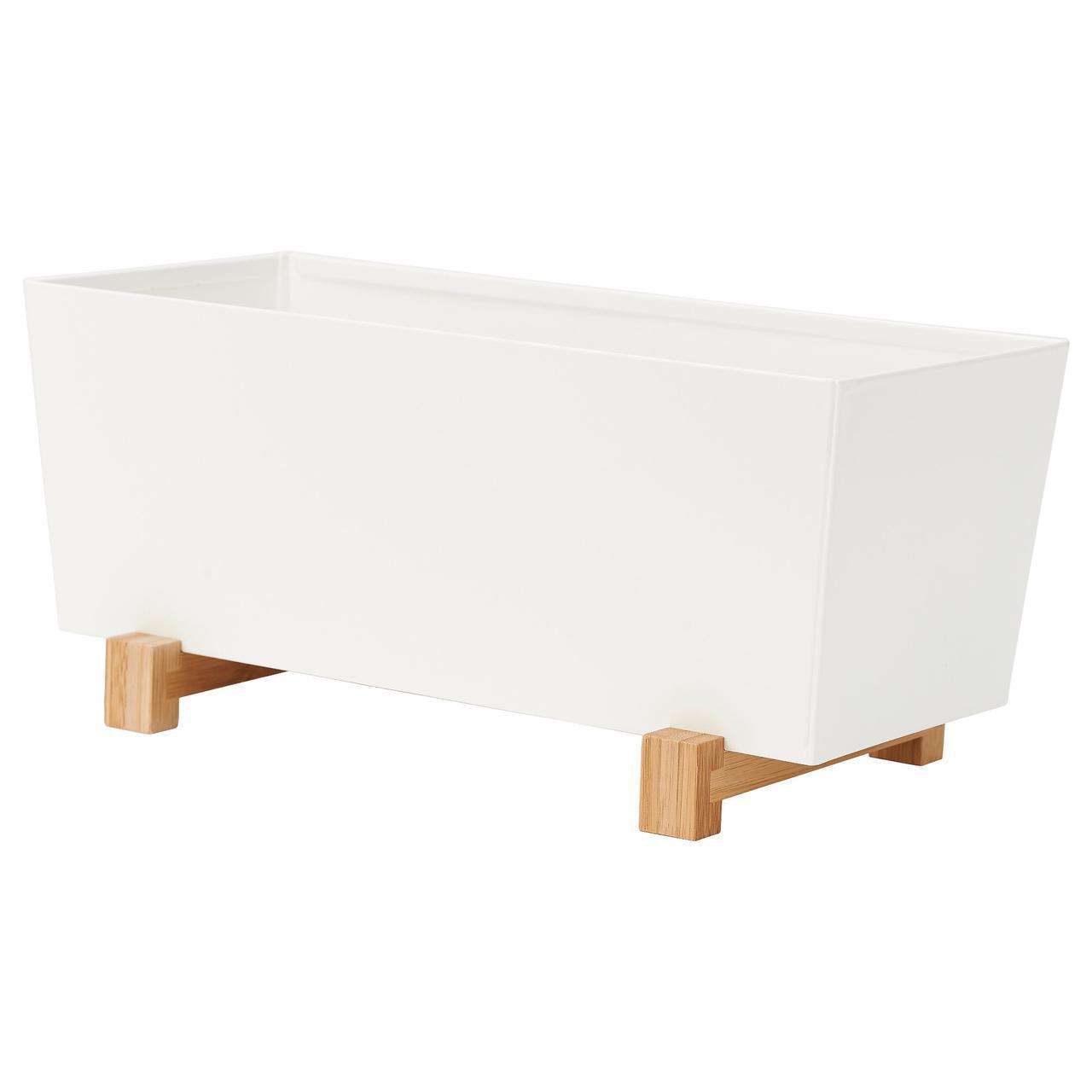 ✅ IKEA BITTERGURKA (802.857.87) Обложка гошка, белый