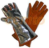 Перчатки Terk400 кожаные термостойкие