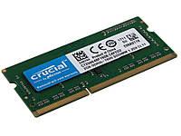 Оперативная память 2 ГБ PC3L 12800 S DDR3 1600 МГц Crucial Для ноутбука