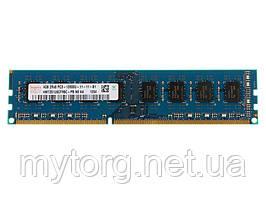 Оперативная память 4 ГБ 2Rx8 PC3-12800 DDR3 1600 МГц С чипом Hynix Для Intel и Amd