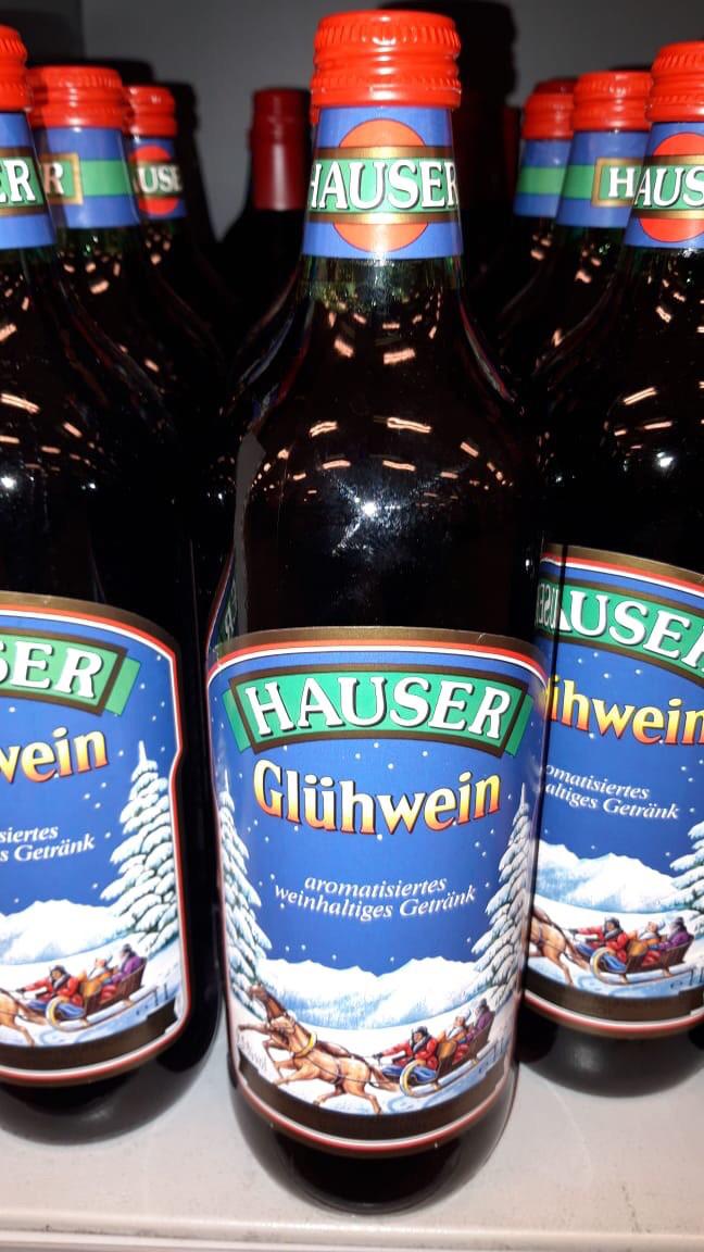 Глинтвейн Hauser Christkinol Gluhwein 1л Германия