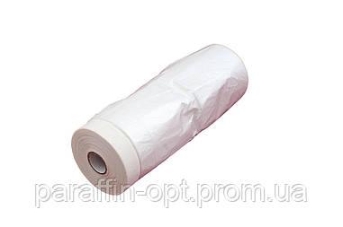Пленка защитная с малярной лентой Intertool - 1,7 х 15 м