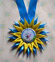 Медаль Лучшему танцору с розеткой Астра