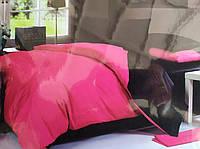 Сімейна постільна білизна Fashion рожево-чорне
