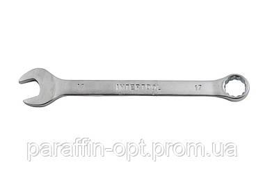 Ключ рожково-накидной Intertool - 17 мм