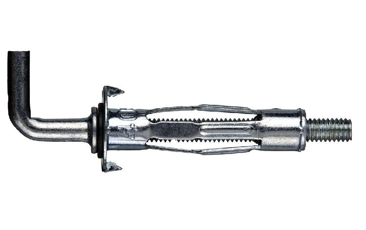 Стальной дюбель MOLLY М6х52 с крюком L (100 шт/уп)