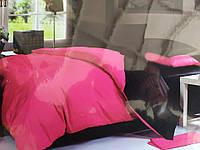Сімейна постільна білизна Fashion рожевий/чорний