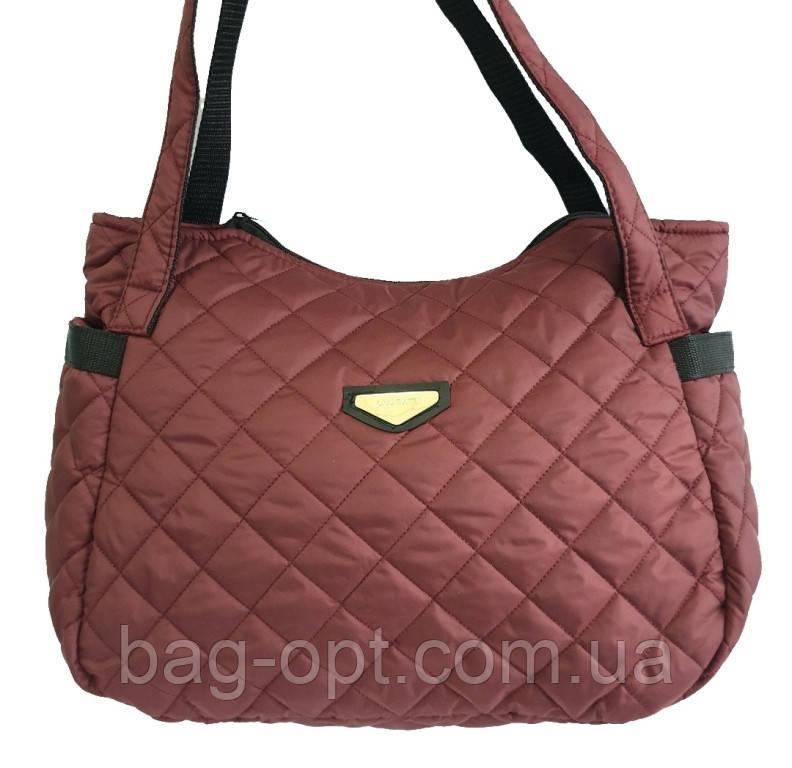 Женская стеганая сумка Classic ( 45x26 см)