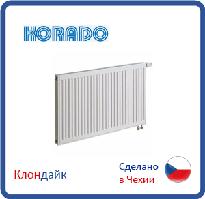 Стальной радиатор Korado тип 11 500*2600 нижнее подключение
