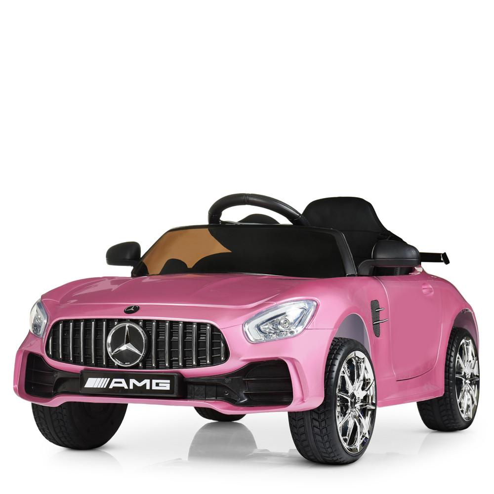 Детский электромобиль Mercedes AMG M 4105EBLRS-8 Автопокраска Розовый Гарантия качества Быстрая доставка