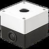 Корпус КП101 для кнопок 1место, Белый (BKP10-1-K01) IEK