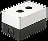 Корпус КП102 для кнопок 2места, Белый (BKP10-2-K01) IEK