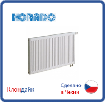 Стальной радиатор Korado тип 11 500*3000 нижнее подключение