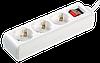 Удлинитель У03К-выкл. 3 места 2Р+PЕ/1,5 метра 3х1мм2 16А/250 (WYP10-16-03-01-ZK-17) ІЕК