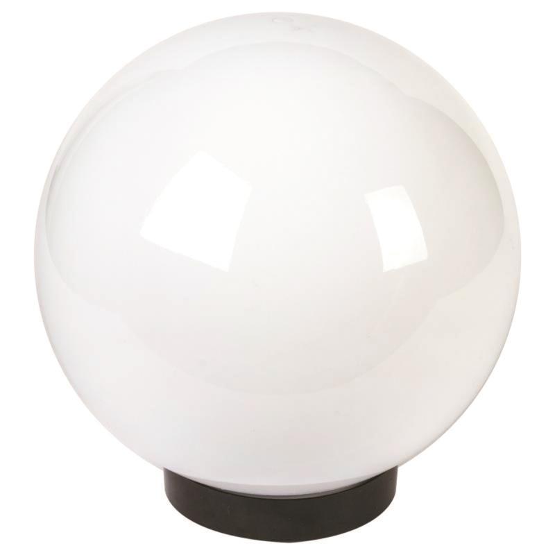 Шар пластиковый молочный диаметр 300мм