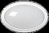 Світильник світлодіодний ДПО 3040Д 12Вт 4500К ІР54 овал білий пластик з ДД (LDPO0-3040D-12-4500-K01) ІЕК