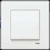 Выключатель одноклавишный, Белый Karre (90960001) VI-KO