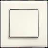 Выключатель одноклавишный, крем Linnera (90401001) VI-KO