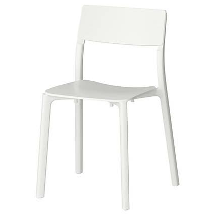 ✅ IKEA JANINGE (002.460.78) Стул белый