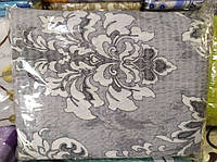 Двуспальное постельное белье жатка TIROTEX серого окраса