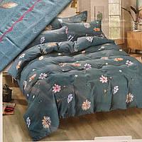 Двуспальное постельное белье Classical ромашки