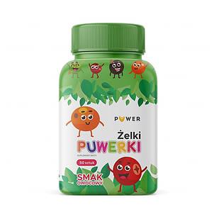 PUWERKI, желейки для детей от 3 лет, фруктовый ароматизатор, 50 штук