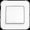 Выключатель одноклавишный, Белый Rollina (90420001) VI-KO