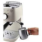 Рожковая кофеварка эспрессо Delonghi Distinta ECI 341.W 1050 Вт, фото 3