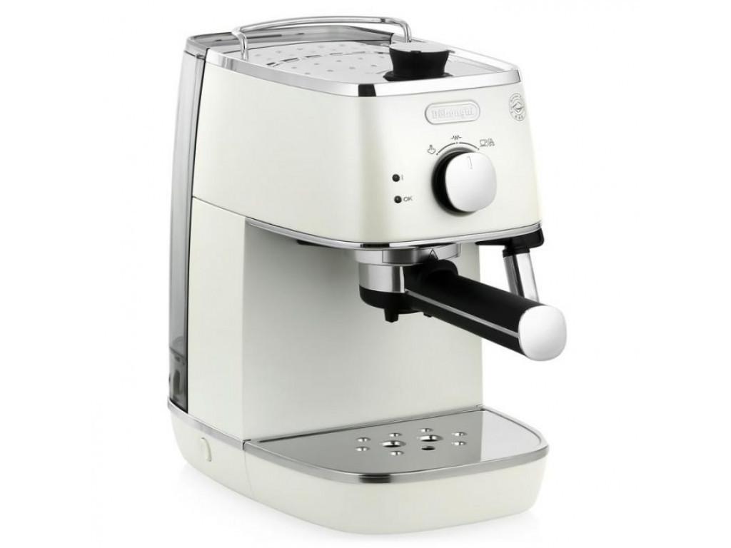 Рожковая кофеварка эспрессо Delonghi Distinta ECI 341.W 1050 Вт