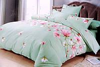 Двуспальное постельное белье ZARA цветы