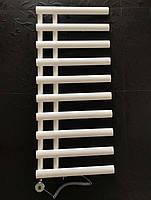 Белый комбинированный полотенцесушитель с ТЭНом 500х1140 NICE 10/1140 Arttidesign