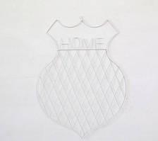Настенный органайзер Мудборд (moodboard) доска визуализации и планирования, Home 56*39 см, белый