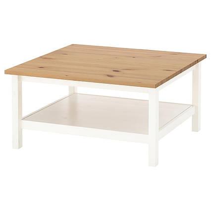 ✅ IKEA HEMNES (304.134.95) Журнальный столик, белый, белый