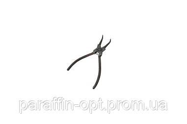 Щипцы для стопорных колец Intertool - 150 мм изогнутые-cжим