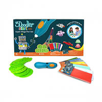3D-ручка 3Doodler Start для детского творчества - МЕГАКРЕАТИВ (192 стержня, 8 шаблонов) 3DS-MEGA-E-R, фото 1